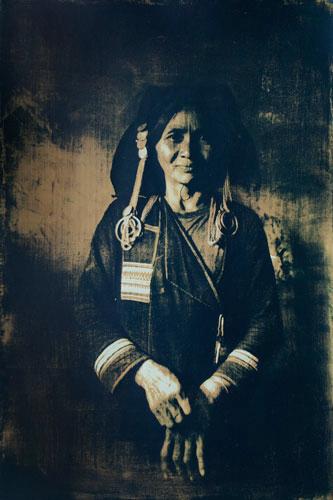 Ahka vrouw, Noord Laos